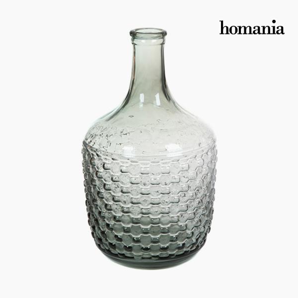 Garrafa Decorativa Vidrio – Colección Pure Crystal Deco by Homania