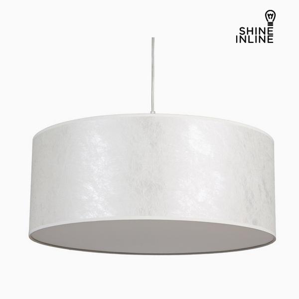 Lámpara de Techo Nácar Algodón y poliéster (50 x 50 x 20 cm) by Shine Inline