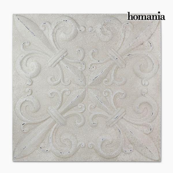 Decoración Colgante Cuadrado Blanco (94 x 94 x 7 cm) by Homania