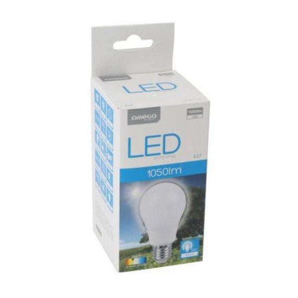 Bombilla LED Esférica Omega E27 12W 1050 lm 2800 K Luz Cálida