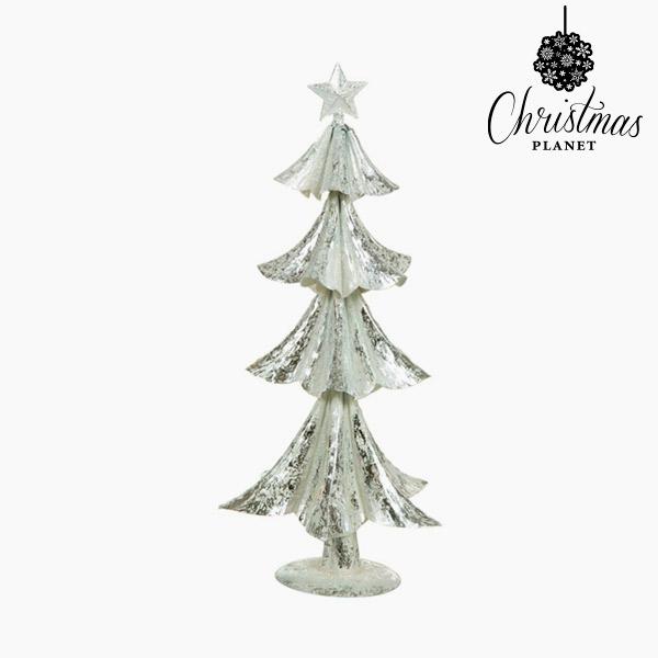Árbol de Navidad Hierro Plateado (20 x 20 x 44 cm) by Christmas Planet
