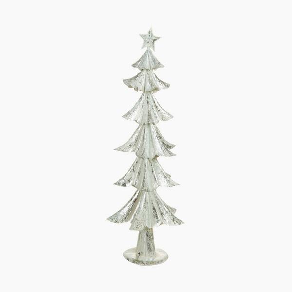 Árbol de Navidad Hierro Plateado (28 x 28 x 74 cm) by Christmas Planet