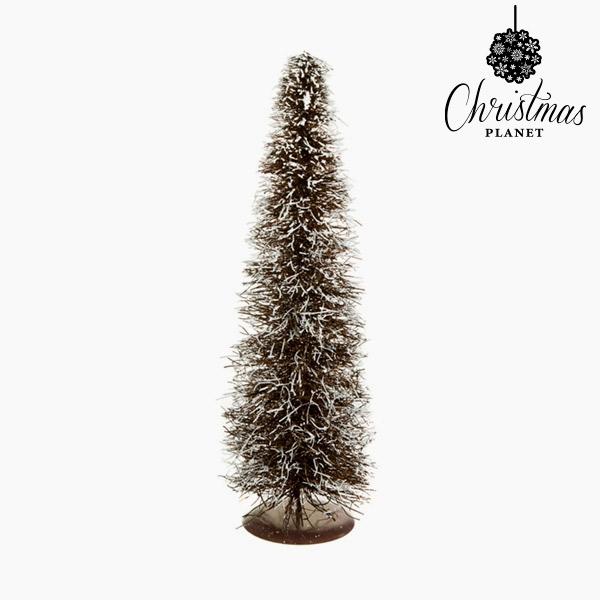 Árbol de Navidad Ratán Natural Blanco (20 x 20 x 60 cm) by Christmas Planet