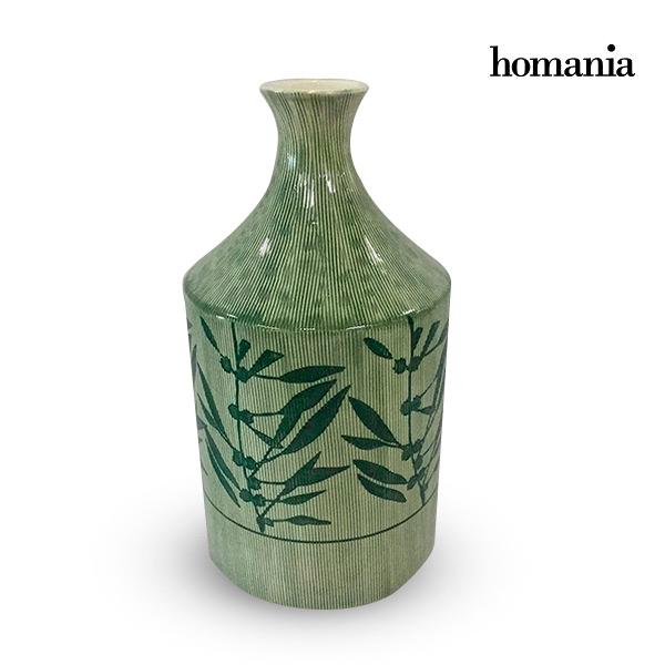 Jarrón Gres (15 x 15 x 30 cm) – Colección Pure Crystal Deco by Homania
