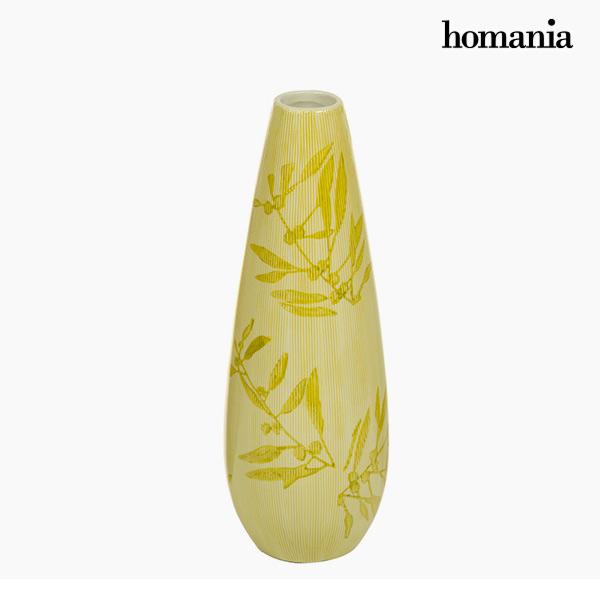 Jarrón Gres (11 X 11 X 32 Cm) – Colección Pure Crystal Deco By Homania