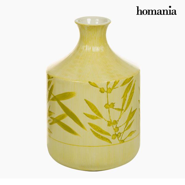 Jarrón Gres (15 X 15 X 23 Cm) – Colección Pure Crystal Deco By Homania