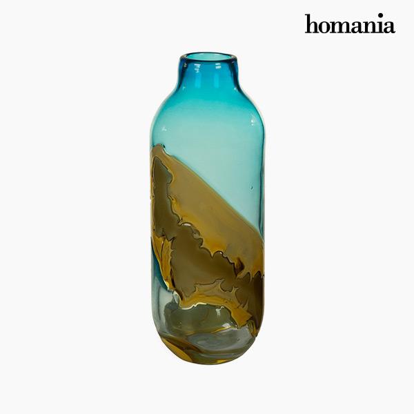 Jarrón Cristal (12 x 12 x 33 cm) – Colección Pure Crystal Deco by Homania