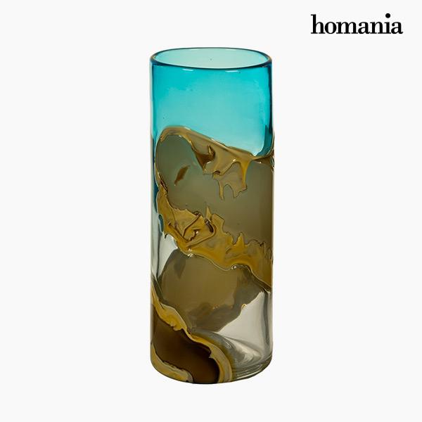 Jarrón Cristal (12 x 12 x 30 cm) – Colección Pure Crystal Deco by Homania
