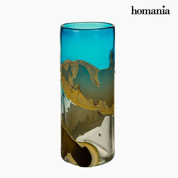 Jarrón Cristal (14 x 14 x 35 cm) – Colección Pure Crystal Deco by Homania