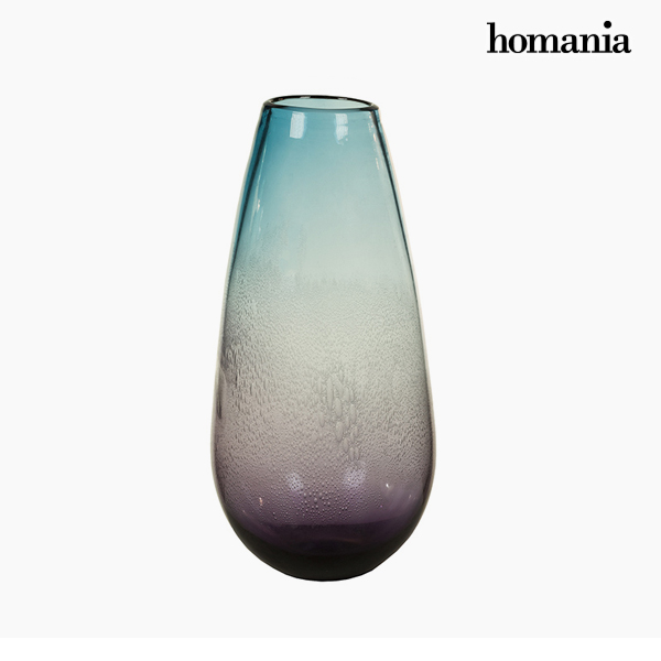 Jarrón Cristal (18 x 18 x 37 cm) – Colección Pure Crystal Deco by Homania