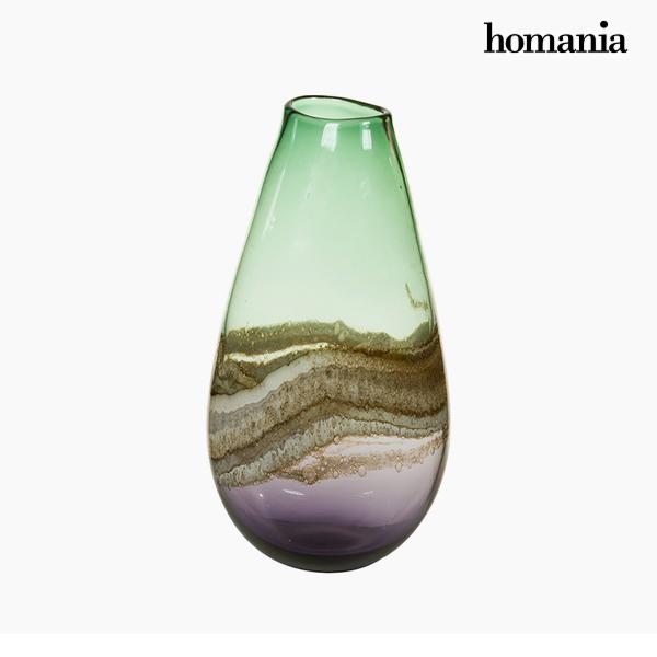 Jarrón Cristal (19 x 15 x 37 cm) – Colección Pure Crystal Deco by Homania