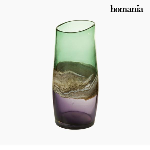 Jarrón Cristal (13 x 15 x 30 cm) – Colección Pure Crystal Deco by Homania