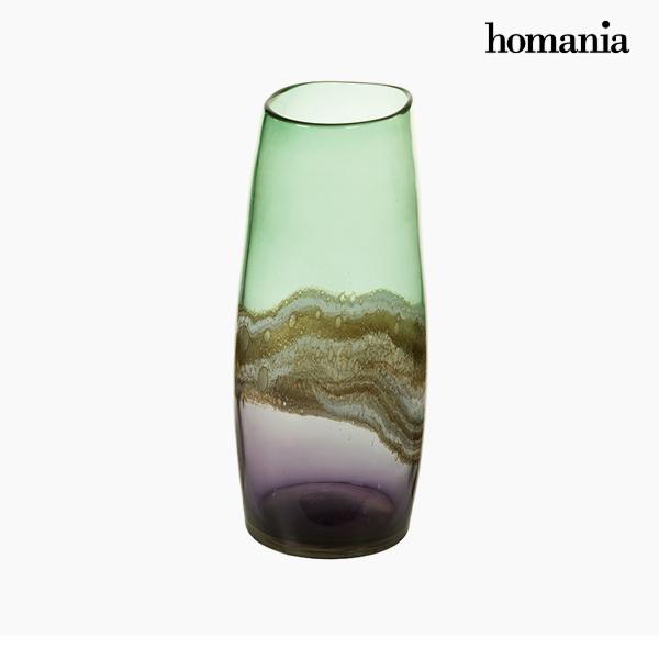 Jarrón Cristal (17 x 17 x 36 cm) – Colección Pure Crystal Deco by Homania