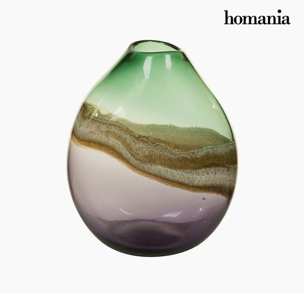 Jarrón Cristal (25 x 20 x 33 cm) – Colección Pure Crystal Deco by Homania