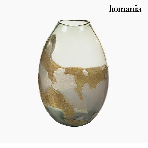 Jarrón Cristal (20 x 13 x 28 cm) – Colección Pure Crystal Deco by Homania