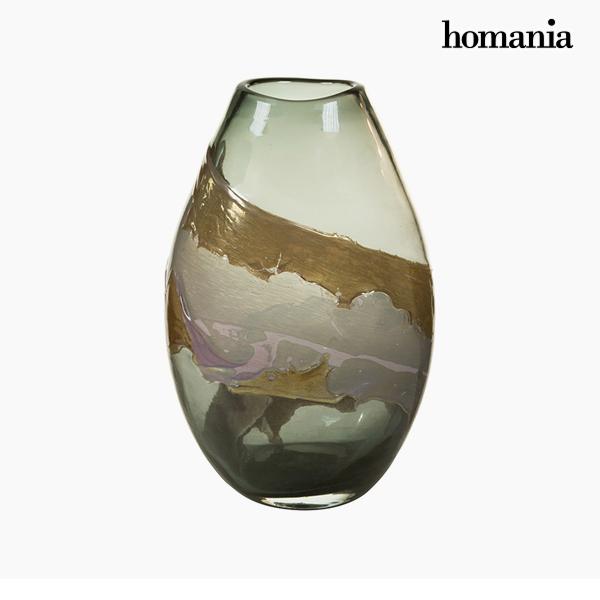 Jarrón Cristal (23 x 15 x 35 cm) – Colección Pure Crystal Deco by Homania