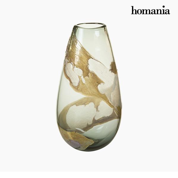 Jarrón Cristal (21 x 14 x 37 cm) – Colección Pure Crystal Deco by Homania
