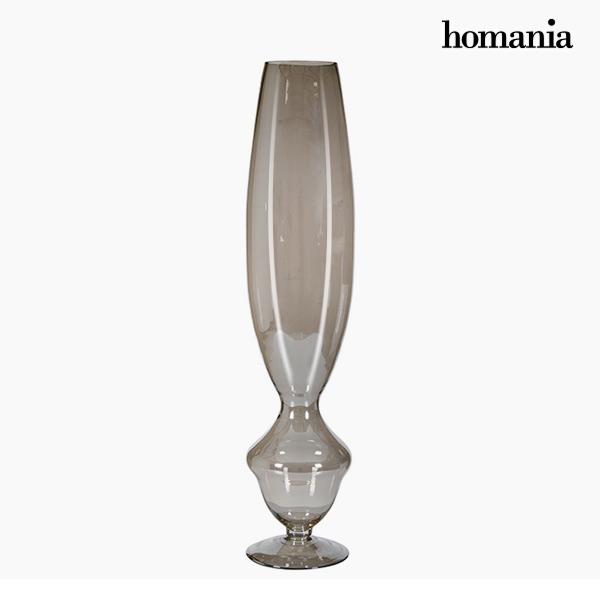 Jarrón (20 x 20 x 90 cm) – Colección Pure Crystal Deco by Homania