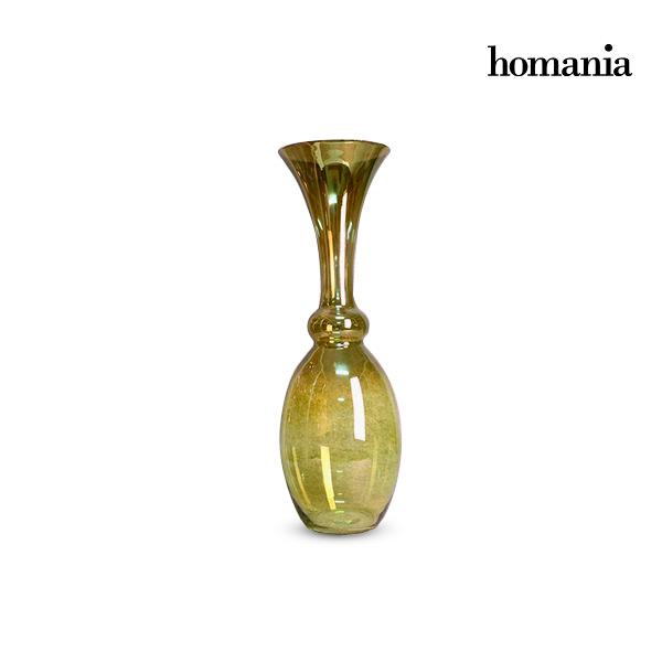 Jarrón (20 x 20 x 67 cm) – Colección Pure Crystal Deco by Homania