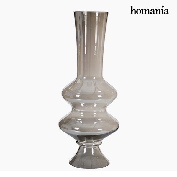 Jarrón (20 x 20 x 71 cm) – Colección Pure Crystal Deco by Homania