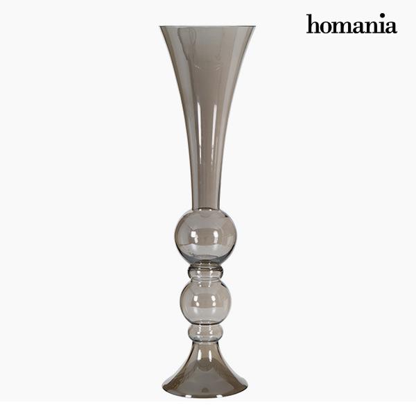 Jarrón (21 x 21 x 88 cm) – Colección Pure Crystal Deco by Homania