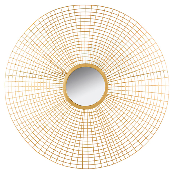 Espejo Golden Circle (96 x 3 x 96 cm)