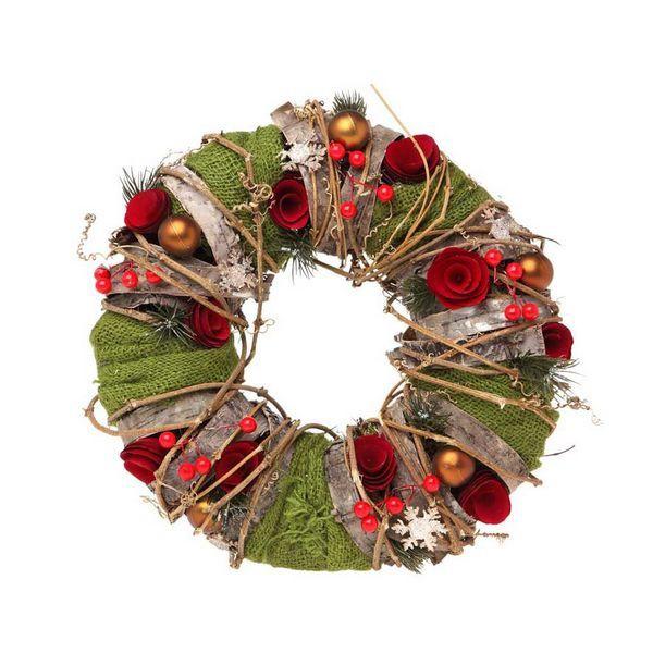Corona de Navidad Christmas Planet 7714 35 cm