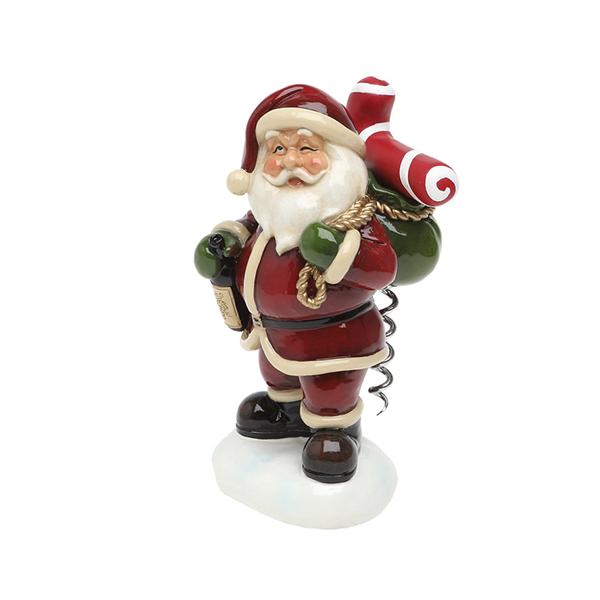 Soporte Para Sacacorchos Christmas Planet 6531 Papá Noel