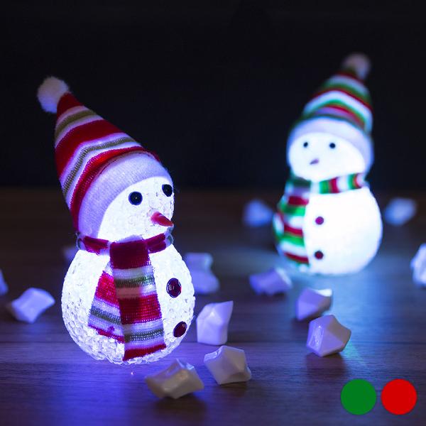 Adorno Navideño LED Muñeco de Nieve 145896