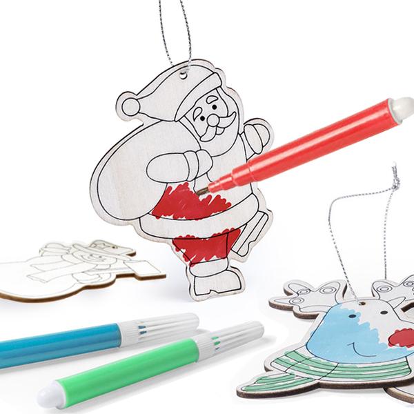 Set Adornos De Navidad DIY (6 Pcs) 145899