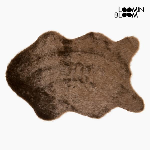 Alfombra (60 x 90 x 3 cm) Poliéster Beige