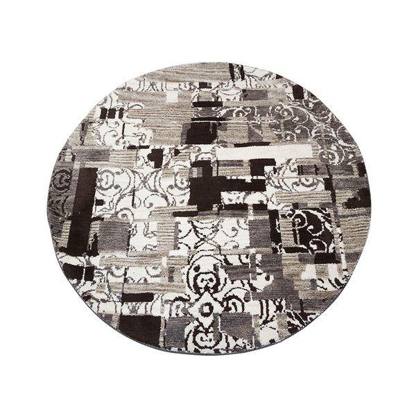 Alfombra (120 x 120 x 3 cm) Gris