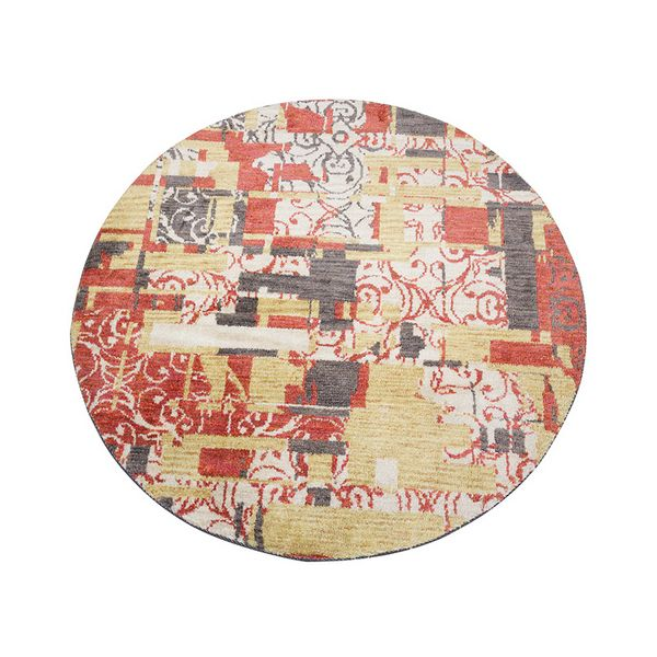 Alfombra (120 x 120 x 3 cm) Beige