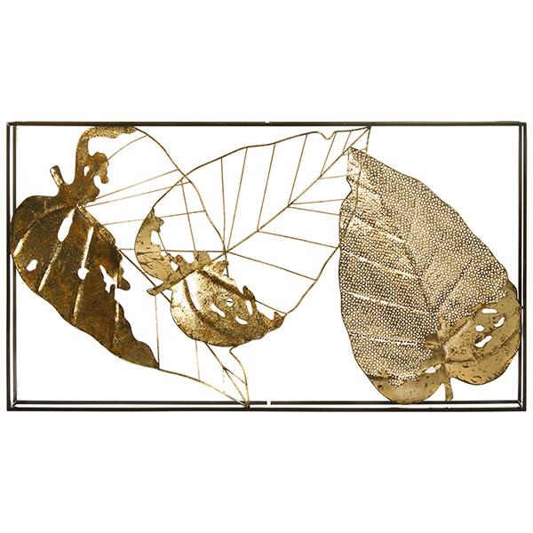Decoración de Pared Hierro (50 X 5,5 x 36 cm)