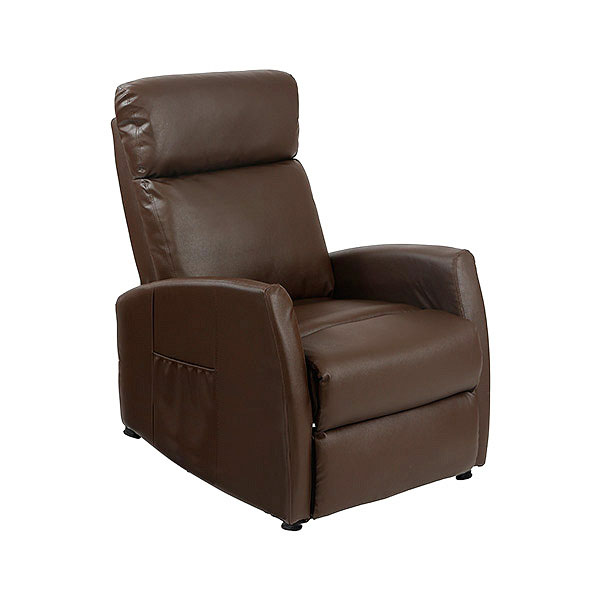 Sillón Relax Masajeador Compact Push Back Marrón Cecotec 6182