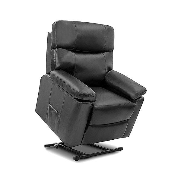 Sillón Relax Masajeador Levantapersonas Negro Cecotec 6118
